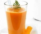 огуречный морковный сок зеленью