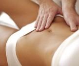 массаж похудения живота