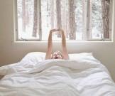 быстрая утренняя зарядка постели