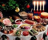объедаться время праздников