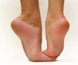 аспириновый пилинг гладких ступней