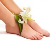кокосовый скраб ног