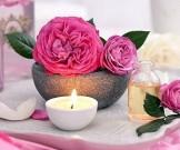 розовое масло массажа
