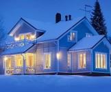 зимой настроение поднимут разноцветные краски яркое освещение