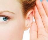 самомассаж упражнения улучшения слуха отосклерозе