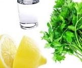 Как преодолеть задержку жидкости: петрушка и лимон в помощь