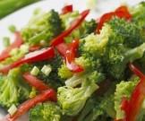 салат паровых овощей