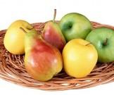 салат фруктовый кедровыми орехами